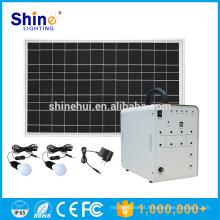 Mini sistema solar portátil para casa, sistema de luz solar portátil informações em hindi