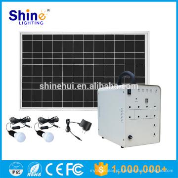 Iluminação do carregador móvel do preço de fábrica de 12v 30w 50w para o sistema Home da energia solar 6kw