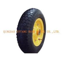 2PR rubber wheel 4.00-8
