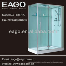 Cabina de ducha, con 3 opciones para bandeja de ducha