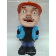 China figura engraçada brinquedos figura de ação de plástico