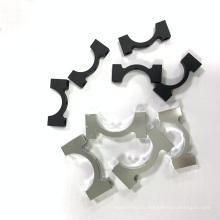 Фрезерные анодированные алюминиевые хомуты с ЧПУ