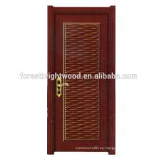 El más nuevo diseño HDF moldeó la puerta de la melamina / las puertas interiores de madera de la melamina