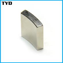 Grade N42 Sintered NdFeB Magnet Arc Shape