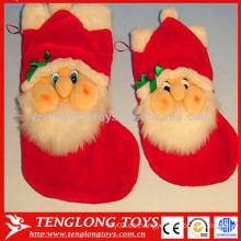 Calcetín rojo de la Navidad del padre de la serie de la Navidad 2015 para la venta