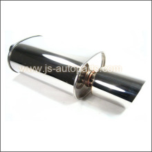 OBX 2.5'' WS STYLE UNIVERSAL EXHAUST MUFFLER SLANT TIP FOR ALL CARS WS2