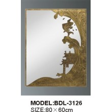 5mm Thickness Silver Glass Bathroom Mirror (BDL-3126)