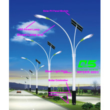 WPSRR-8803 3~15m Municipal Road Hot DIP Galvanized Steet Light Pole style