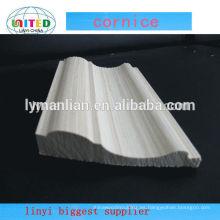 madera de pino imprimada cornisa moldura de madera