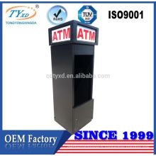 Enceintes de kiosque ATM en métal de haute qualité
