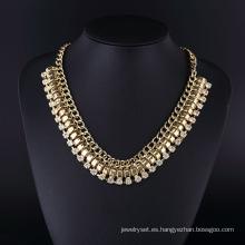 Collar de cadena exagerado estilo americano Hln16823