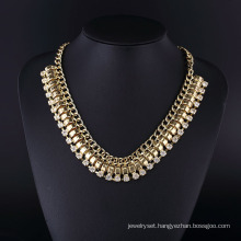 American Style Exaggerated Chain Necklace Hln16823
