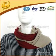 Own Factory Design reversível 100% lenço de seda cachecol para homem