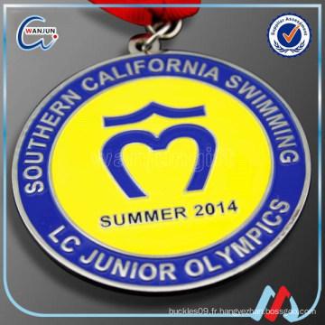 Participation médailles de natation au sud de la Californie