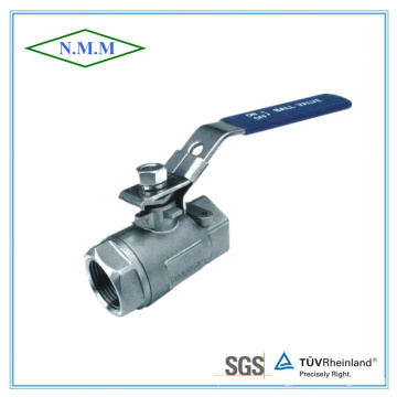 Stainless Steel Reduced Bore Threaded End 2PC Ball Valve in 2000wog