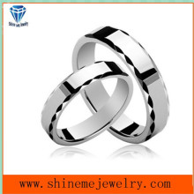 Korean Couples Ring White Plated Hot Selling Rings