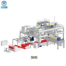 Máquina de corte de não tecido para linha de produção SMS
