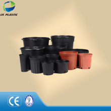 Double color planter, plastic vacuum pots