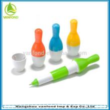 Presente de caneta promoção linda bola de boliche para crianças
