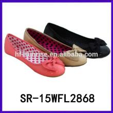 2015 lastest lady shoes leisure flat shoe hina brand casual shoes