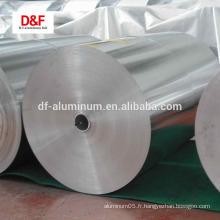 Papier d'aluminium pour le ménage