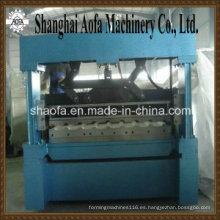 Panel de techo metálico que hace la máquina formadora de rollos (AF-R1100)