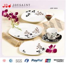Nouvel ensemble de vaisselle en céramique carrée