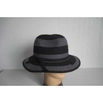 Women's Wool Fabric Braid Hats--YJ72