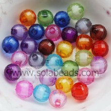 Easter 8mm Colors Round Bubble Ball Imitation Swarovski Beads
