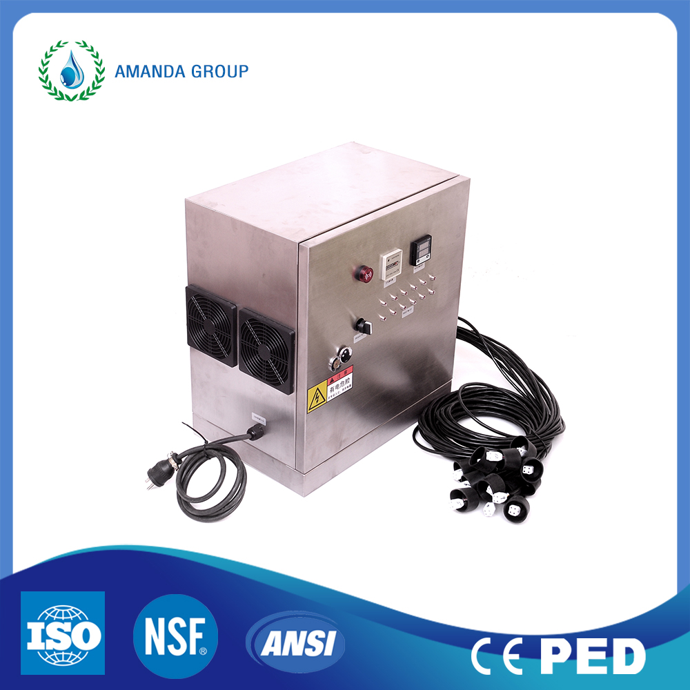 UV Lamp Water Sterilizer for Industrial Cooling Water
