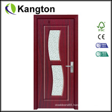 Toilet Glass PVC Bathroom Door (PVC bathroom door)