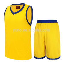 Wholesale price Plus size basketball wear sets sports uniform kits custom printed logo