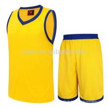 Preço de atacado Plus size conjuntos de desgaste de basquete uniformes esportivos kits logotipo impresso personalizado