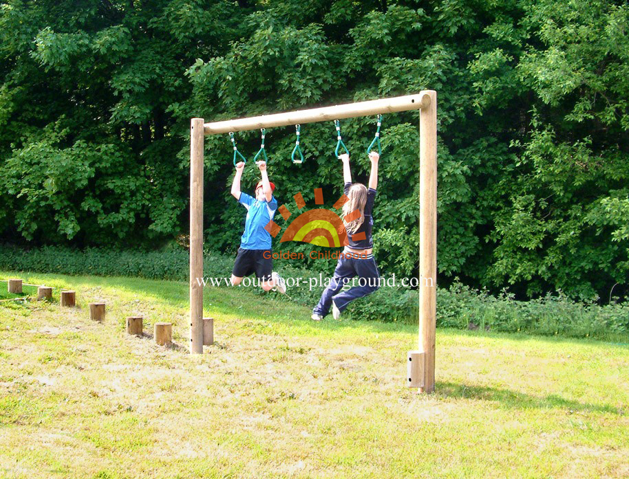 Trapeze Walk Balancing Outdoor Playground