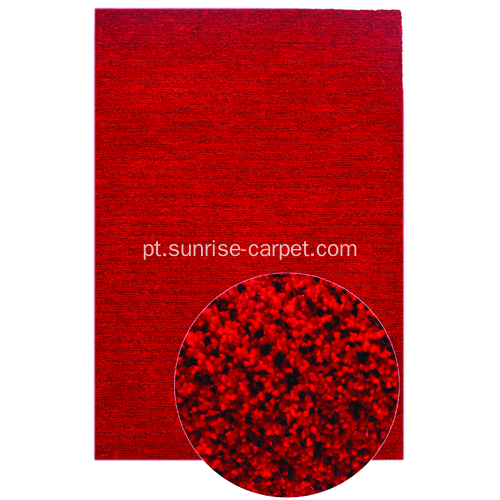 Tabel Tufted Microfiber com tapete de viscose curto