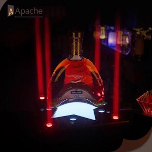 LED Acrylique Wine Display Base pour Bar