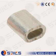 Luva da corda de fio oval de alumínio DIN3093