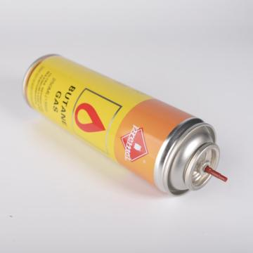 Cartucho de combustible de butano 250ML