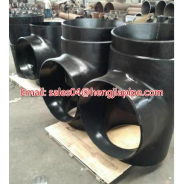 Butt weld carbon steel ANSI DIN equal tee