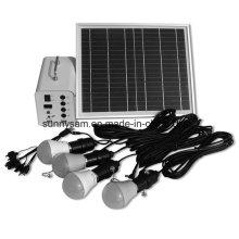 10W Portable Mini-Solaranlage für den Heimgebrauch