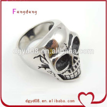 Stainless steel skull rings wholesale