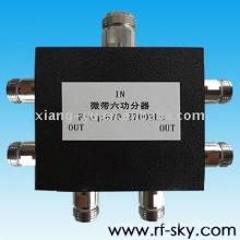 50W 670-2700MHz NM NF haute puissance vhf rf diviseur de puissance passive