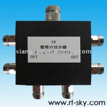 50W 670-2700MHz N-M N-F high power vhf rf Passive power Splitter