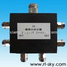 50Вт 670-2700MHz Н-М Н-Ф VHF наивысшей мощности ВЧ пассивный Разветвитель питания