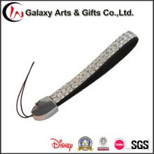 Correa del teléfono móvil de moda de diamantes de imitación