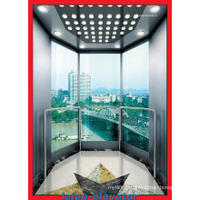 Лифт с обзорным обзором с низким уровнем шума с обзорным стеклом
