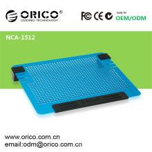 Tous les nouveaux ventilateurs doubles Tous les blocs de refroidissement pour ordinateur portable en aluminium de 14 pouces ORICO NCA1512 bloc de refroidissement