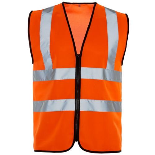 hi viz orange vest