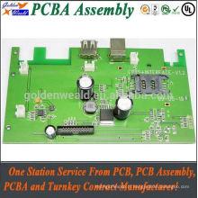 Assemblée de pcb / pcba d'Assemblée de carte PCB de carte électronique de IMMERSION de SMT