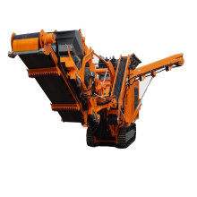 High Performance Mobile Tracked Impact Crusher